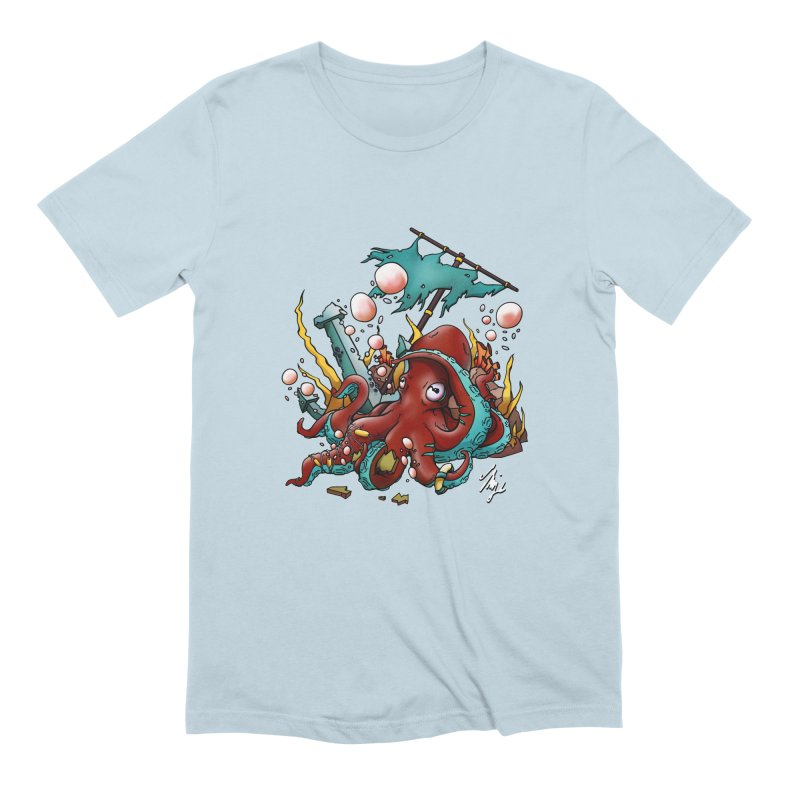 Riptide (Color V.2) Men's Extra Soft T-Shirt by CyndaChill's Apparel Shop