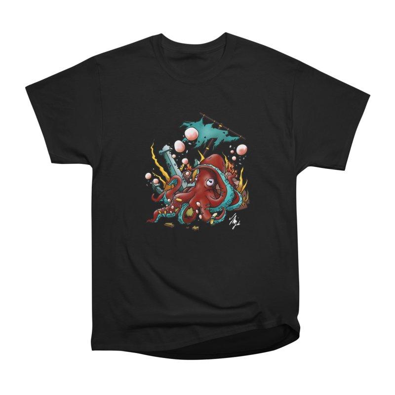 Riptide (Color V.2) Women's Heavyweight Unisex T-Shirt by CyndaChill's Apparel Shop