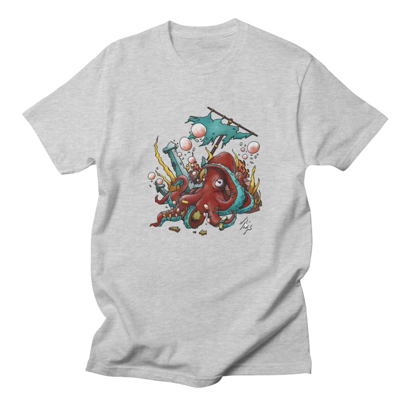 Riptide (Color V.2) Men's Regular T-Shirt by CyndaChill's Apparel Shop