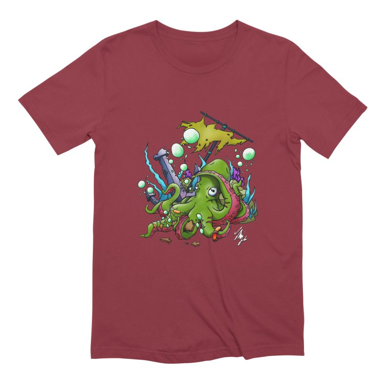 Riptide (Color V.3) Men's Extra Soft T-Shirt by CyndaChill's Apparel Shop