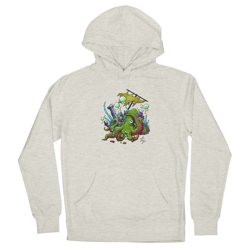 Riptide (Color V.3) Men's French Terry Pullover Hoody by CyndaChill's Apparel Shop