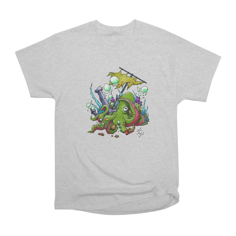 Riptide (Color V.3) Men's Heavyweight T-Shirt by CyndaChill's Apparel Shop