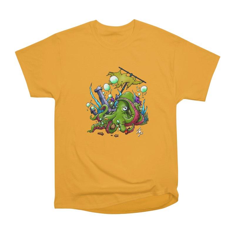 Riptide (Color V.3) Women's Heavyweight Unisex T-Shirt by CyndaChill's Apparel Shop