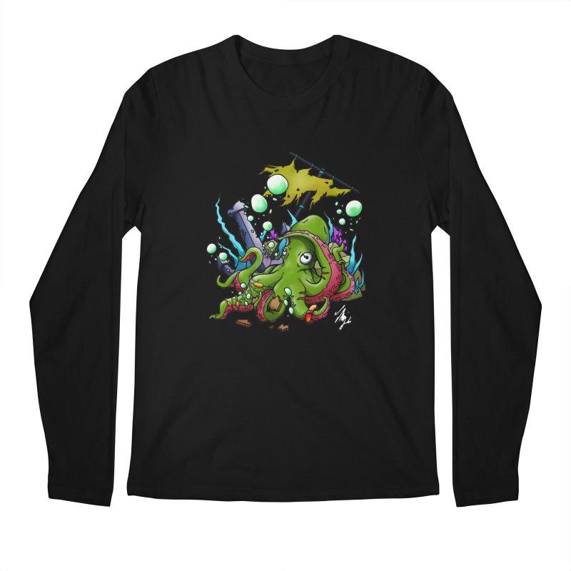 Riptide (Color V.3) Men's Regular Longsleeve T-Shirt by CyndaChill's Apparel Shop