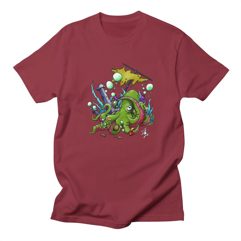 Riptide (Color V.3) Men's Regular T-Shirt by CyndaChill's Apparel Shop