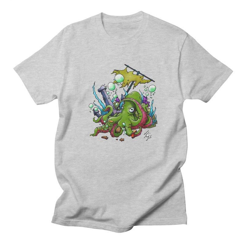 Riptide (Color V.3) Men's Regular T-Shirt by CyndaChill's Apparel Shop