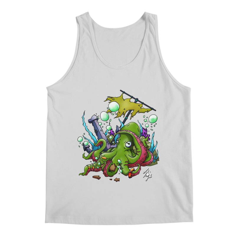 Riptide (Color V.3) Men's Regular Tank by CyndaChill's Apparel Shop