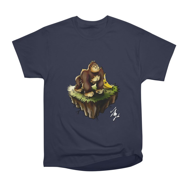 Together Adrift Men's Heavyweight T-Shirt by CyndaChill's Apparel Shop