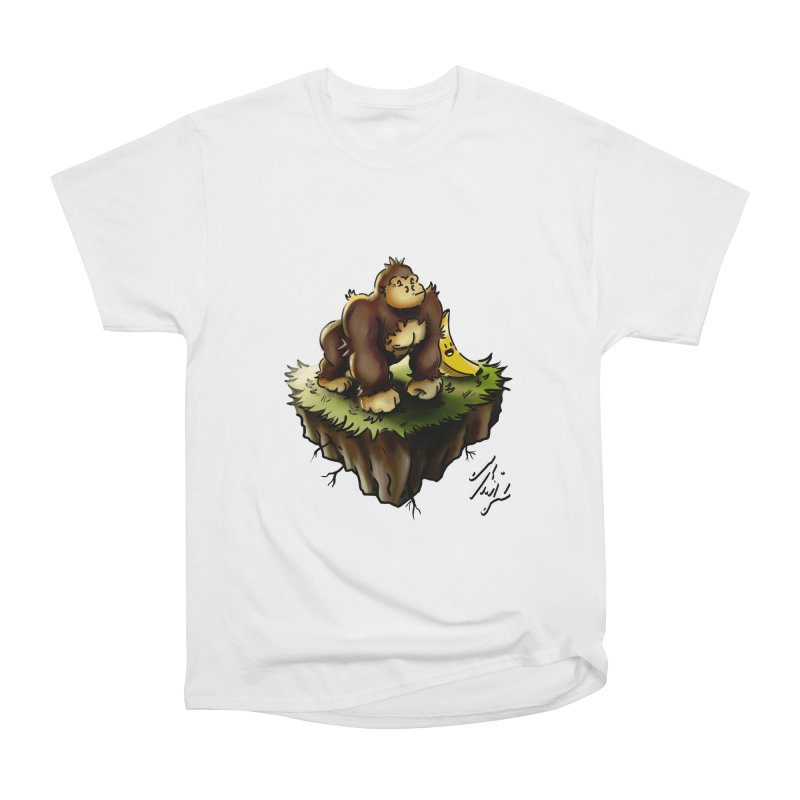 Together Adrift Women's Heavyweight Unisex T-Shirt by CyndaChill's Apparel Shop
