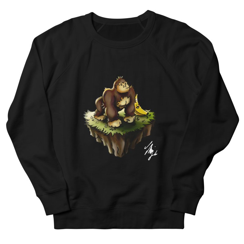 Together Adrift Men's French Terry Sweatshirt by CyndaChill's Apparel Shop