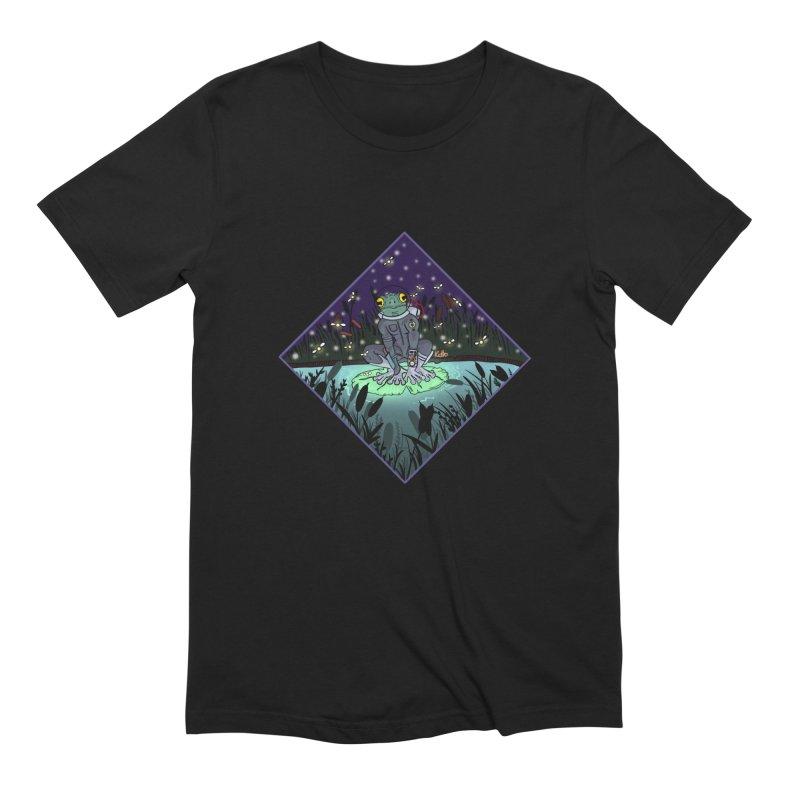 Camp Tadpole Men's Extra Soft T-Shirt by CyndaChill's Apparel Shop