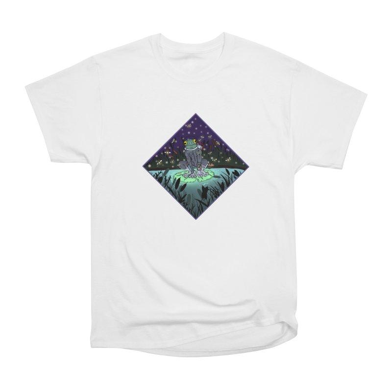 Camp Tadpole Women's Heavyweight Unisex T-Shirt by CyndaChill's Apparel Shop