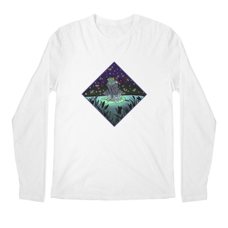Camp Tadpole Men's Regular Longsleeve T-Shirt by CyndaChill's Apparel Shop