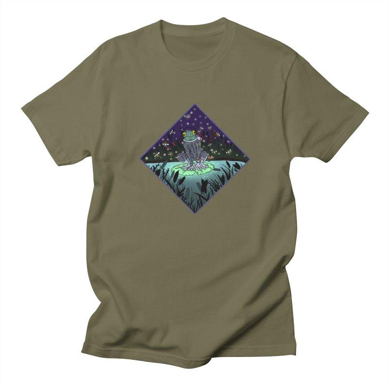 Camp Tadpole Men's Regular T-Shirt by CyndaChill's Apparel Shop