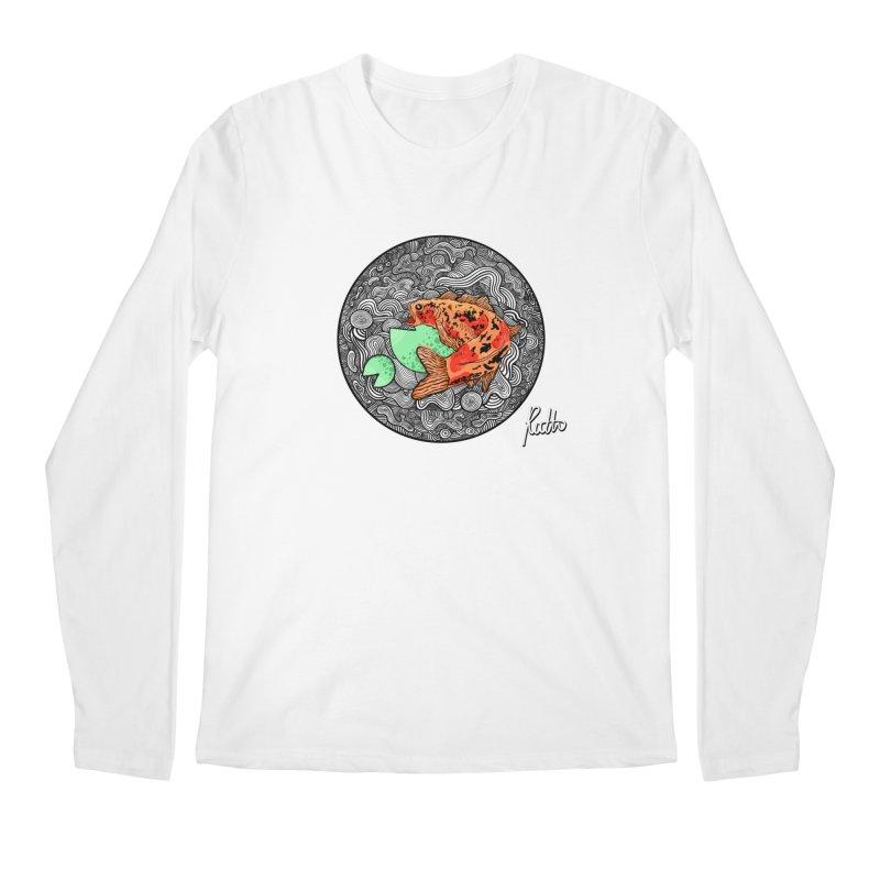 Koi Dance Men's Regular Longsleeve T-Shirt by CyndaChill's Apparel Shop