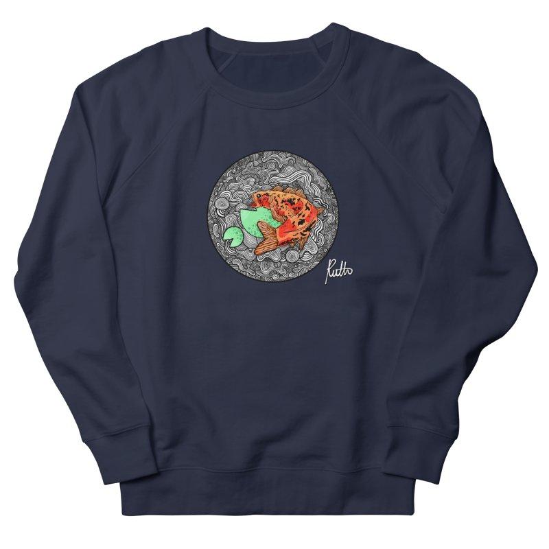 Koi Dance Women's French Terry Sweatshirt by CyndaChill's Apparel Shop