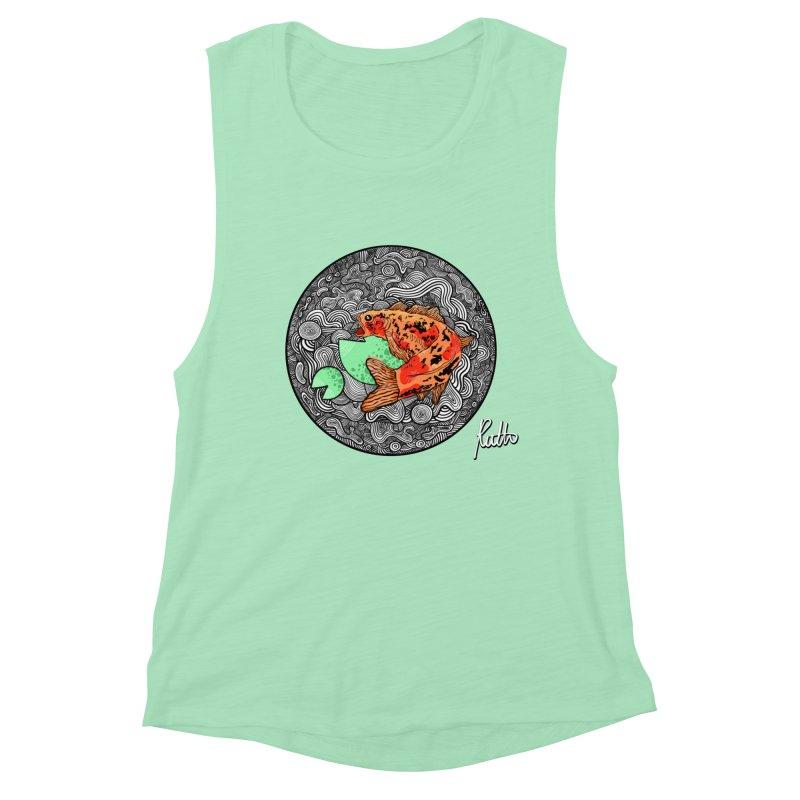 Koi Dance Women's Muscle Tank by CyndaChill's Apparel Shop