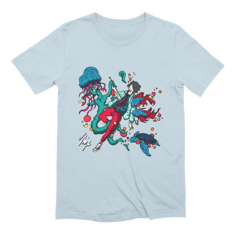 High Tide Men's Extra Soft T-Shirt by CyndaChill's Apparel Shop