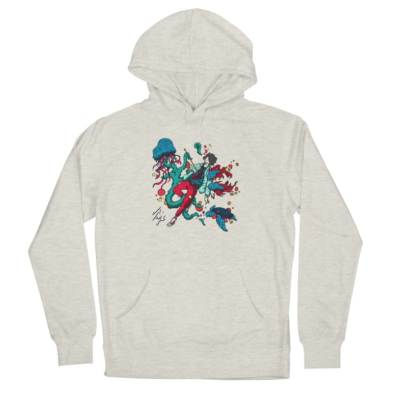 High Tide Men's French Terry Pullover Hoody by CyndaChill's Apparel Shop