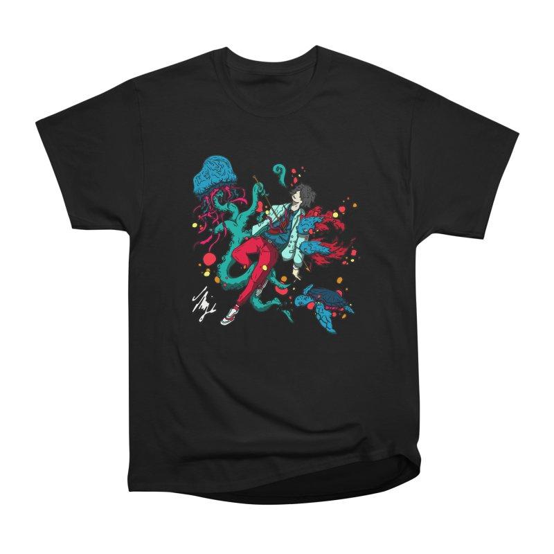 High Tide Women's Heavyweight Unisex T-Shirt by CyndaChill's Apparel Shop