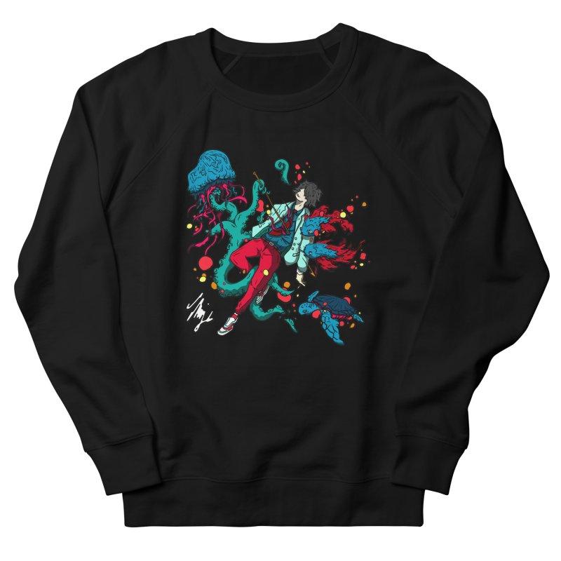 High Tide Men's French Terry Sweatshirt by CyndaChill's Apparel Shop