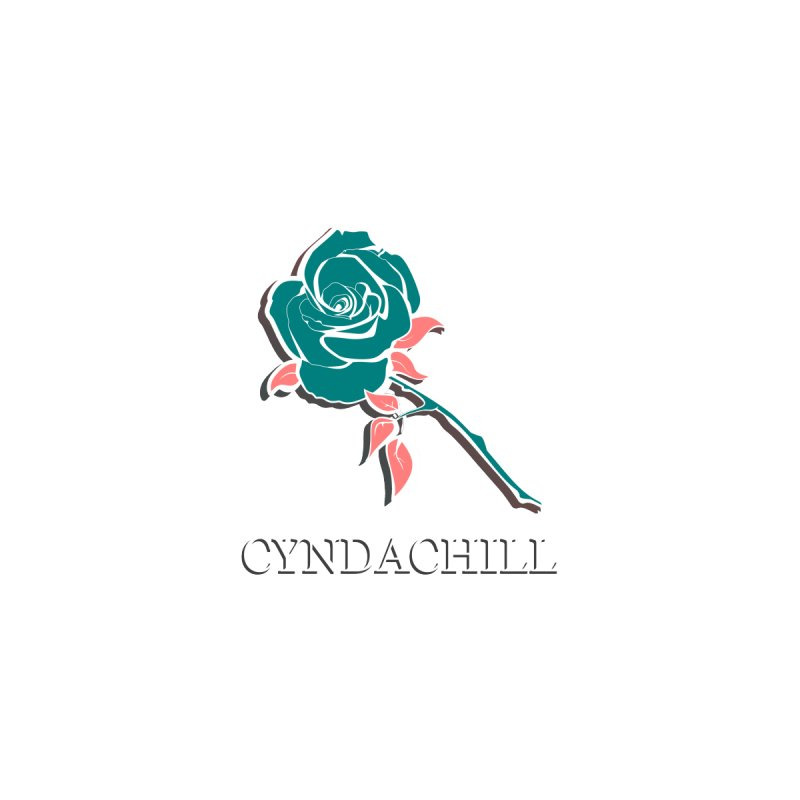 Official CyndaChill Rose Men's T-Shirt by CyndaChill's Apparel Shop