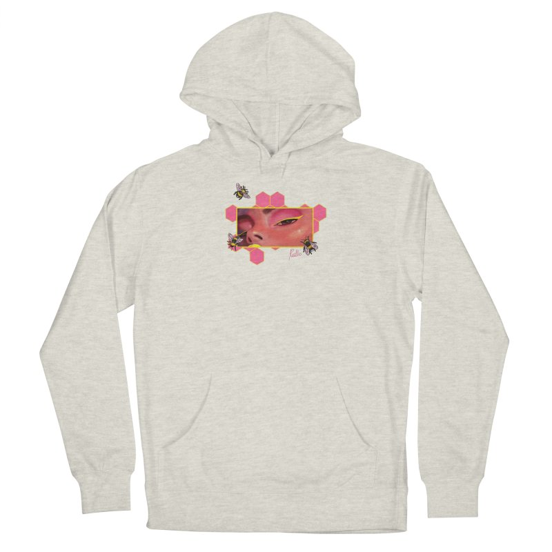 Beeyond Beeautiful Men's French Terry Pullover Hoody by CyndaChill's Apparel Shop