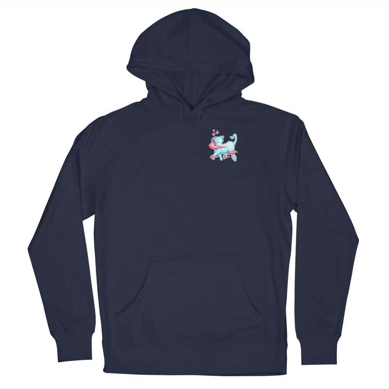 El Gato Men's French Terry Pullover Hoody by CyndaChill's Apparel Shop