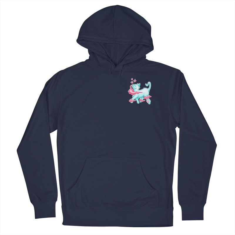 El Gato Women's French Terry Pullover Hoody by CyndaChill's Apparel Shop