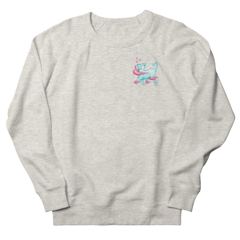 El Gato Men's French Terry Sweatshirt by CyndaChill's Apparel Shop