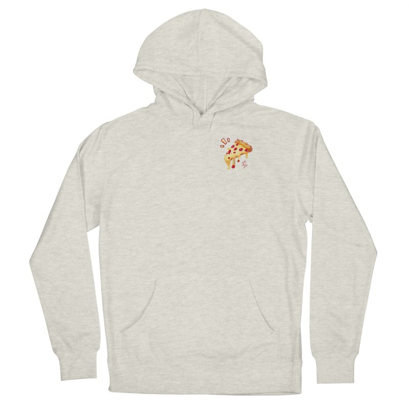 Slice of Happiness Men's French Terry Pullover Hoody by CyndaChill's Apparel Shop