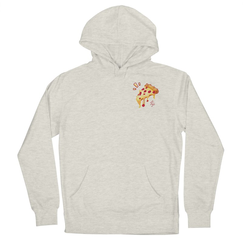 Slice of Happiness Women's French Terry Pullover Hoody by CyndaChill's Apparel Shop