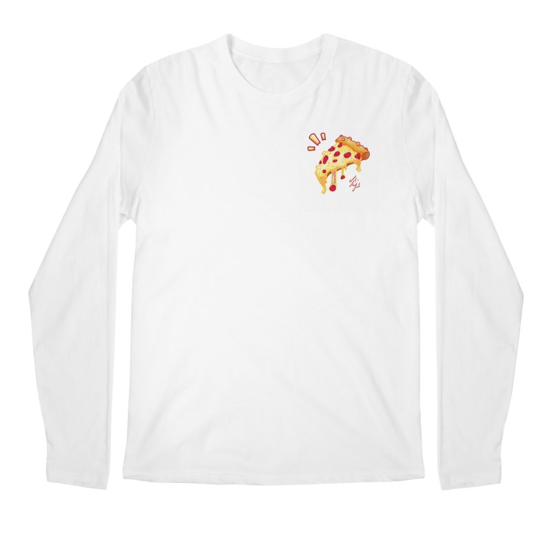 Slice of Happiness Men's Regular Longsleeve T-Shirt by CyndaChill's Apparel Shop