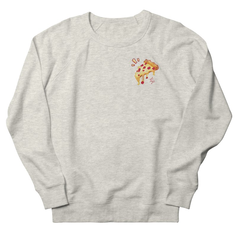 Slice of Happiness Women's French Terry Sweatshirt by CyndaChill's Apparel Shop