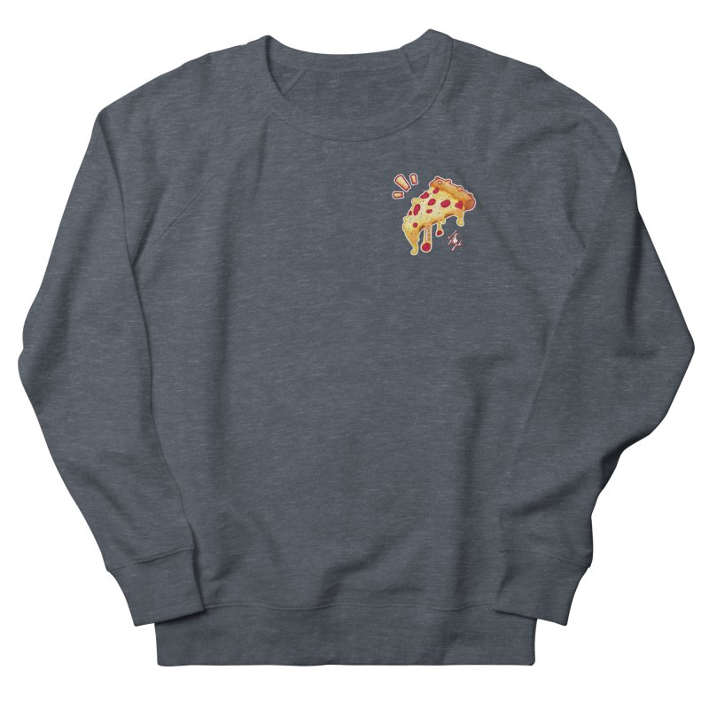 Slice of Happiness Men's French Terry Sweatshirt by CyndaChill's Apparel Shop