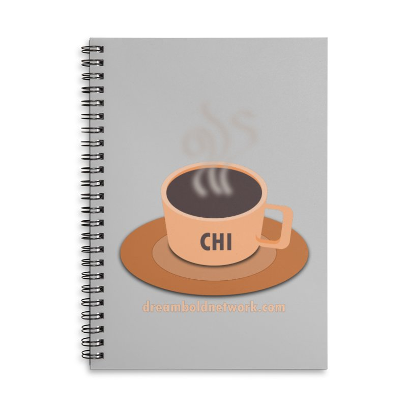Cup of CHI Accessories Lined Spiral Notebook by Dream BOLD Network Shop