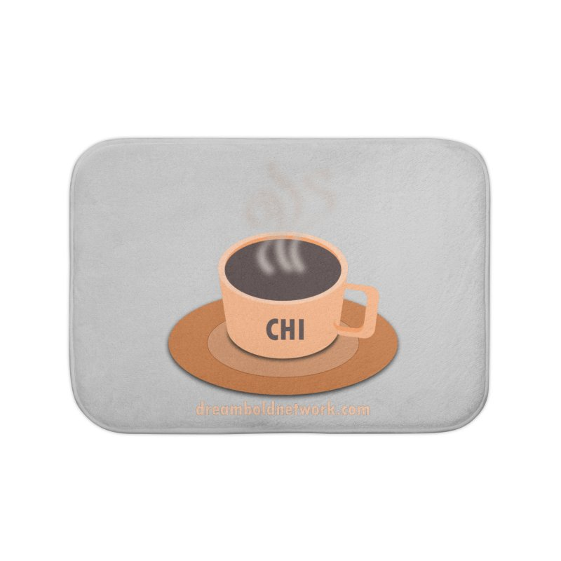Cup of CHI Home Bath Mat by Dream BOLD Network Shop