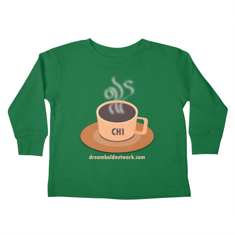 Cup of CHI Kids Toddler Longsleeve T-Shirt by Dream BOLD Network Shop