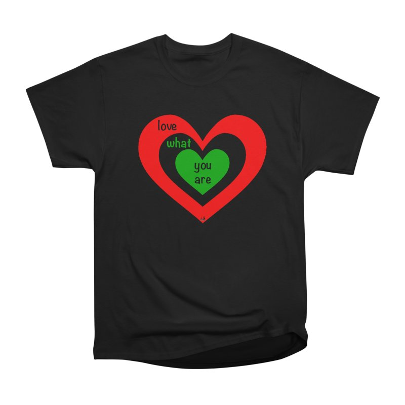 """""""love what you are"""" by NBB Women's T-Shirt by DC APPAREL"""