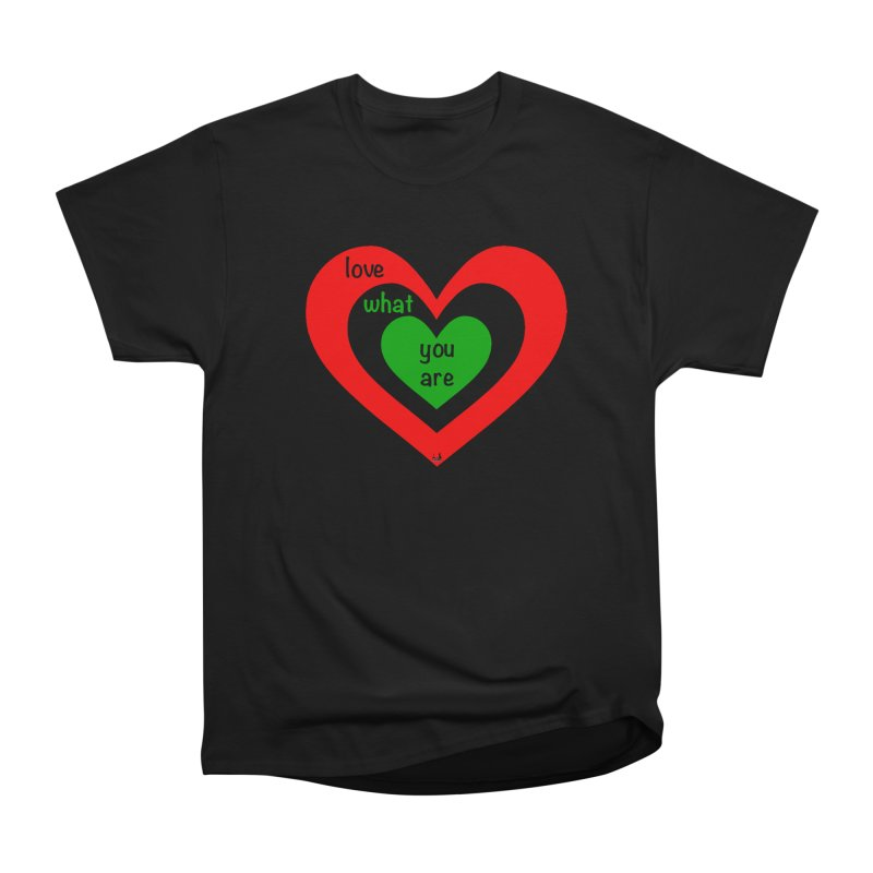 """""""love what you are"""" by NBB Men's T-Shirt by DC APPAREL"""