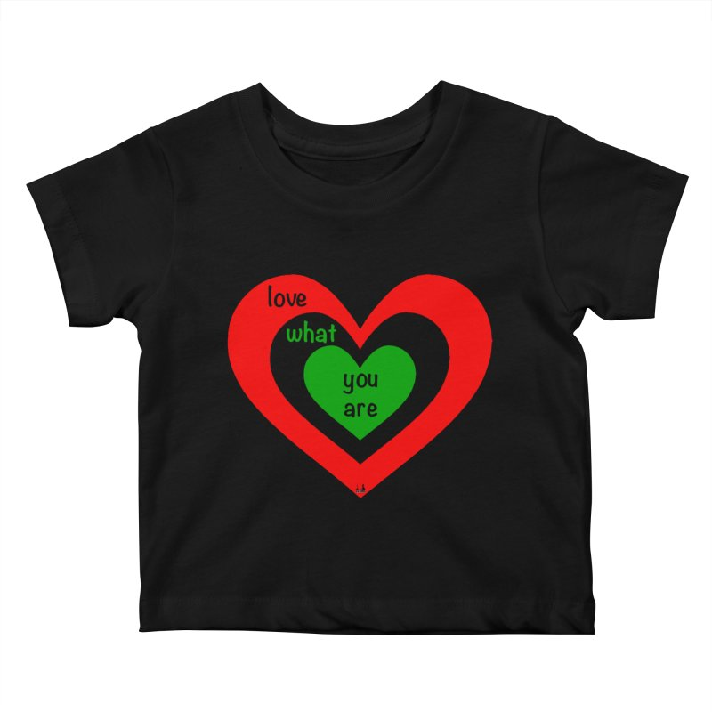 """""""love what you are"""" by NBB Kids Baby T-Shirt by DC APPAREL"""