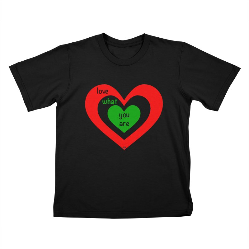 """love what you are"" by NBB Kids T-Shirt by DC APPAREL"