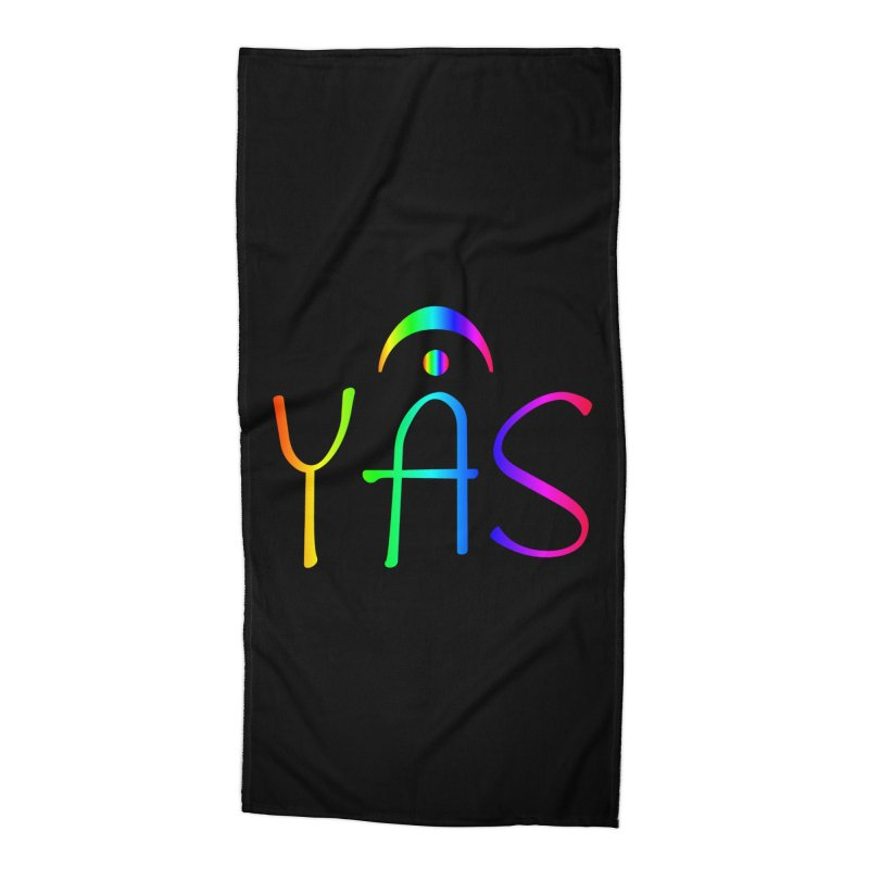 RAINBOW YAS con FERMATA Accessories Beach Towel by DC APPAREL