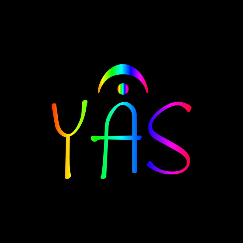 RAINBOW YAS con FERMATA Accessories Phone Case by DC APPAREL