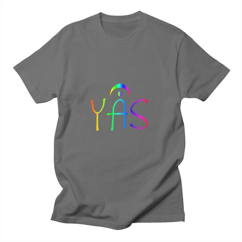 RAINBOW YAS con FERMATA Men's T-Shirt by DC APPAREL