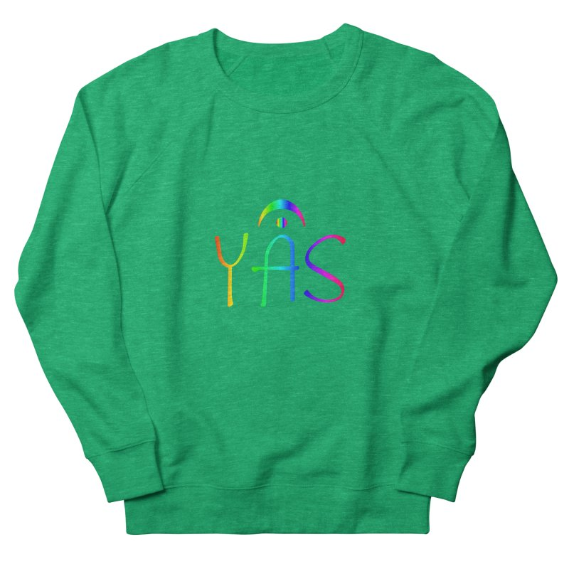 RAINBOW YAS con FERMATA Women's Sweatshirt by DC APPAREL