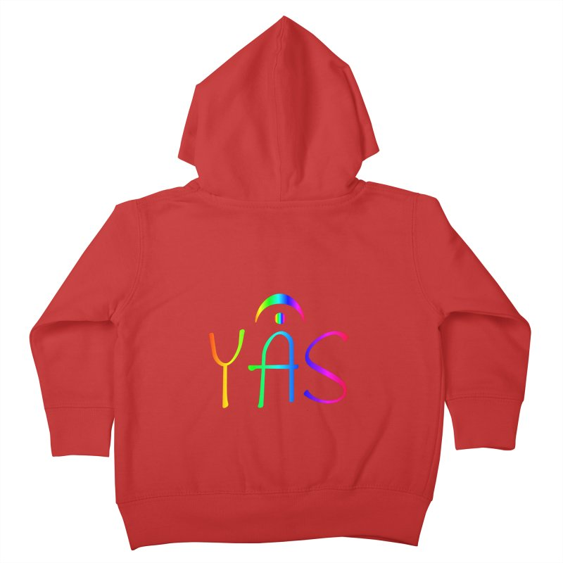 RAINBOW YAS con FERMATA Kids Toddler Zip-Up Hoody by DC APPAREL