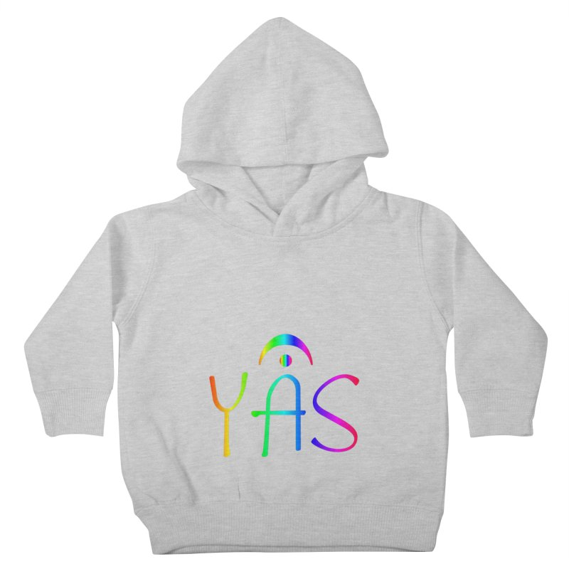 RAINBOW YAS con FERMATA Kids Toddler Pullover Hoody by DC APPAREL