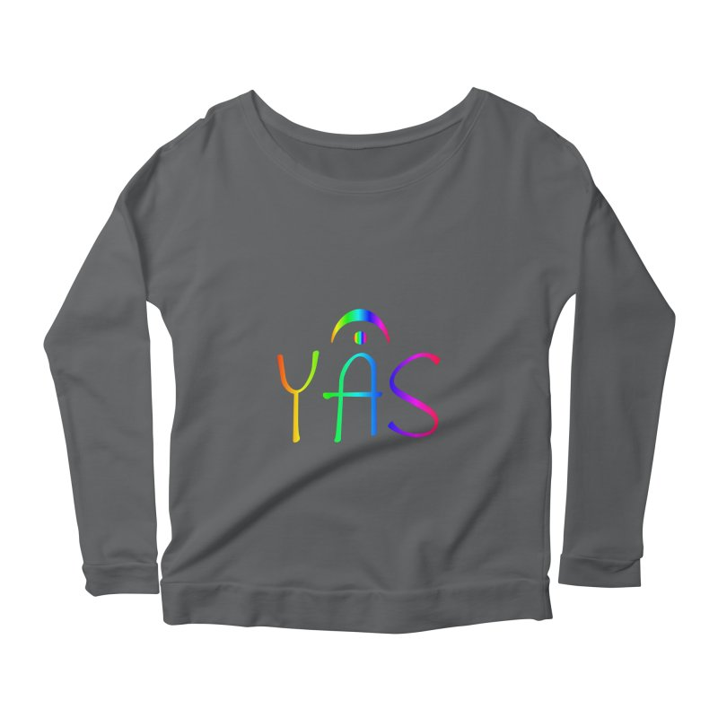 RAINBOW YAS con FERMATA Women's Longsleeve T-Shirt by DC APPAREL