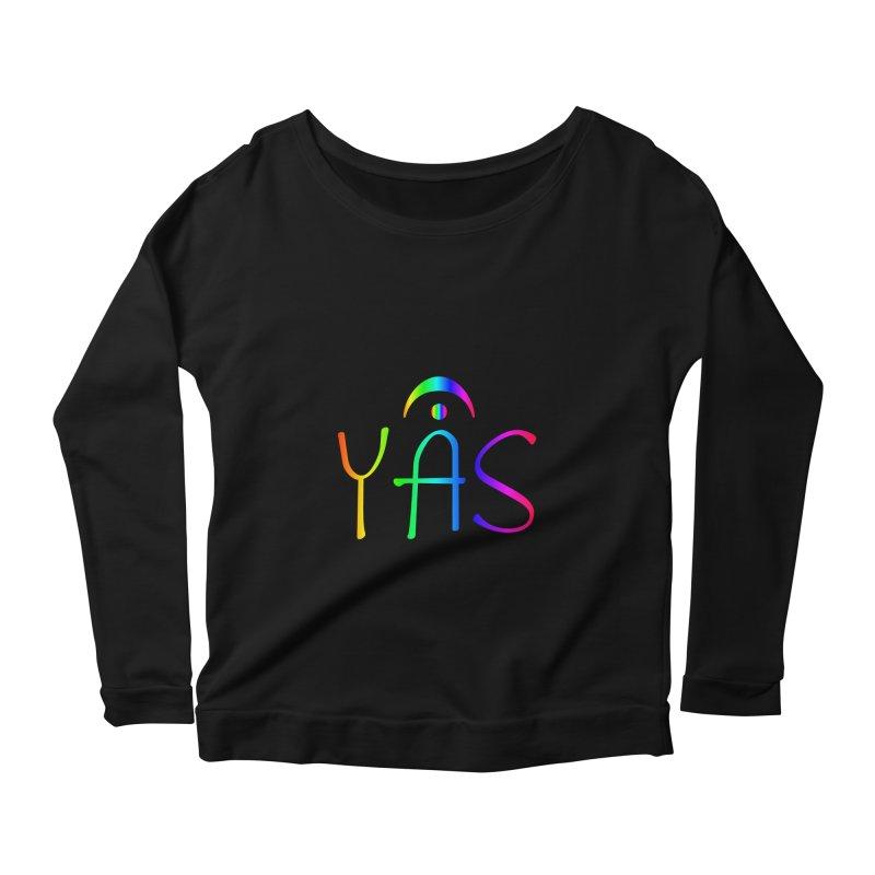 RAINBOW YAS con FERMATA Women's Longsleeve T-Shirt by DC APPAREL